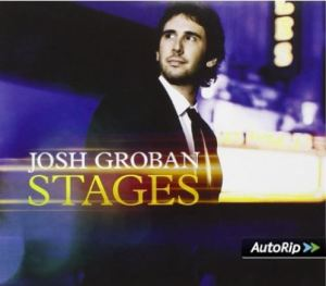 Stages Josh Groban jaquette