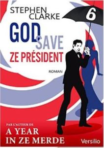 god zave the president- couverture